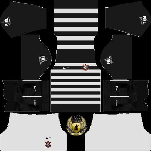 Kits Dream League Soccer Kit Corinthians Dls 16