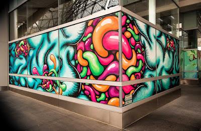 Transbay mural by Daryll Peirce