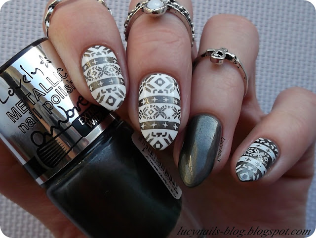 Lovely Ombre Metallic Nail Polish Nr 1 Lucy Nails