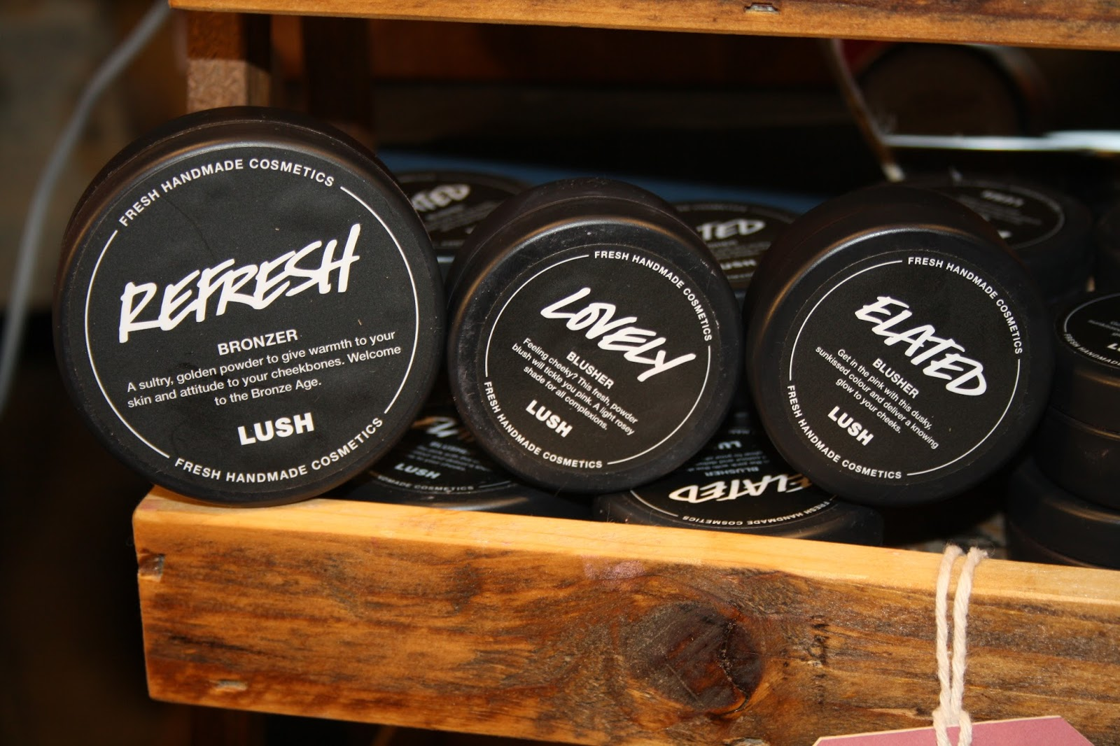 Lush Oxford Street Store Grand Opening
