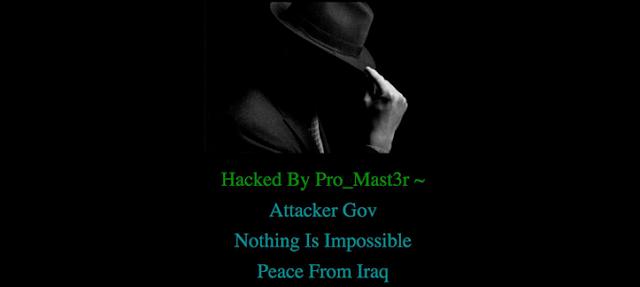 Página web de Trump hackeada