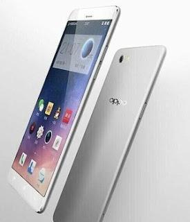 Oppo smartphone view