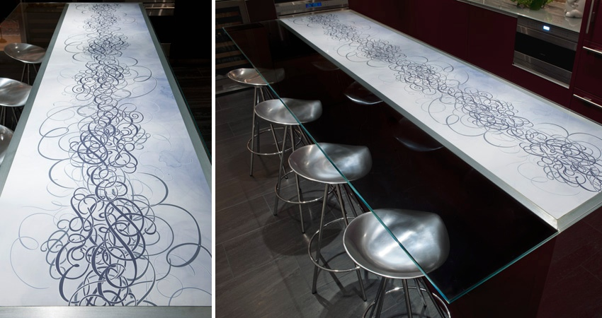 Etched-countertop-art