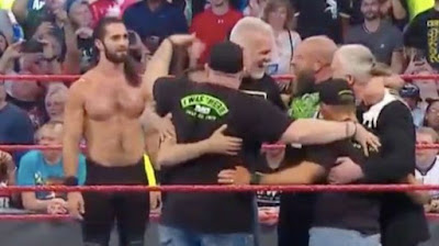 WWE Seth Rollins Raw Title SummerSlam Raw DX NWO OC