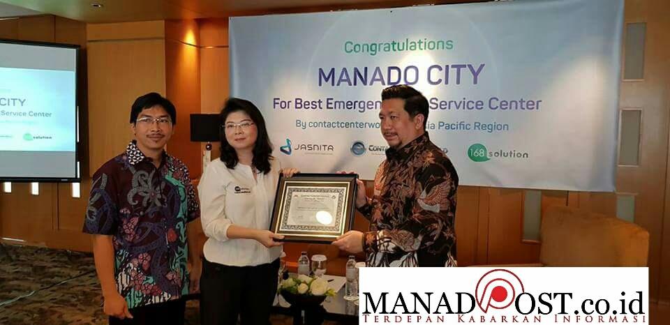Tingkatkan Pelayanan Publik, Pemkot Manado Terima Penghargaan BESC Kawasan Asia Pasifik