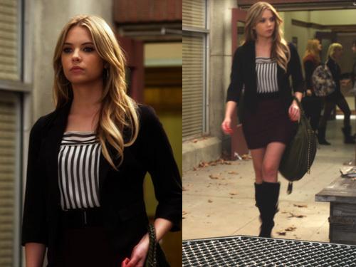 Pretty Little Liars Hanna Season 4 Outfits