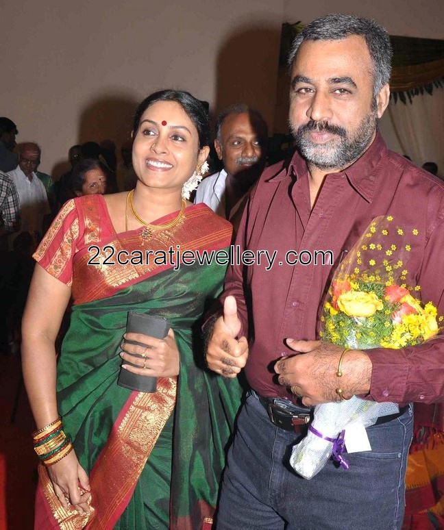 Ponvannan: Saranya Ponvannan At Anjali Wedding Event