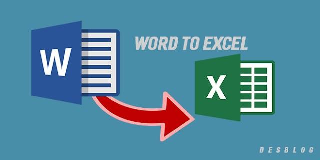 Cách Sao Chép Bảng Từ Word Sang Excel Không Mất Định Dạng