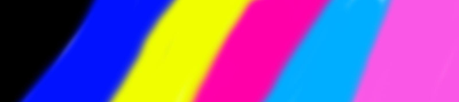 Шаблон для прочистки принтера цветной