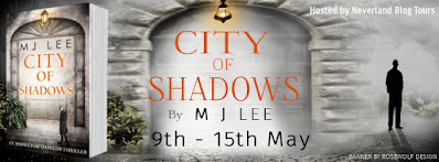 City of Shadows by M.J. Lee book banner