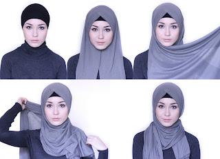 10+ Cara Memakai Hijab 2017 Simple, Modern, Mudah