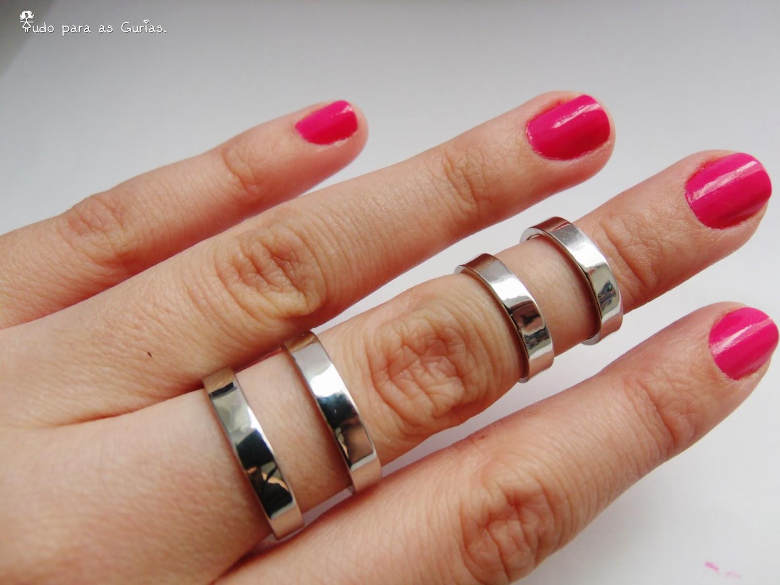 Comprinhas de Outubro de 2013; anel duplo