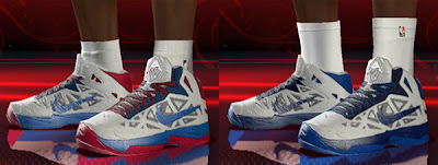 NBA 2K13 Nike Zoom Hyperchaos Shoes Patch
