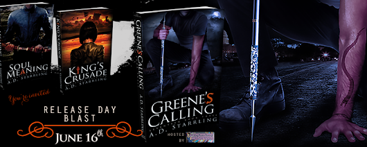 #BookBlast #Fantasy #Mystery - Greene's Calling by AD Starrling @adstarrling ~ Pandora Poikilos - Peace from Pieces