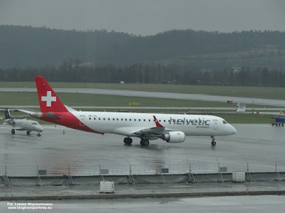 Embraer ERJ-190, HB-JVL, Helvetic Airways