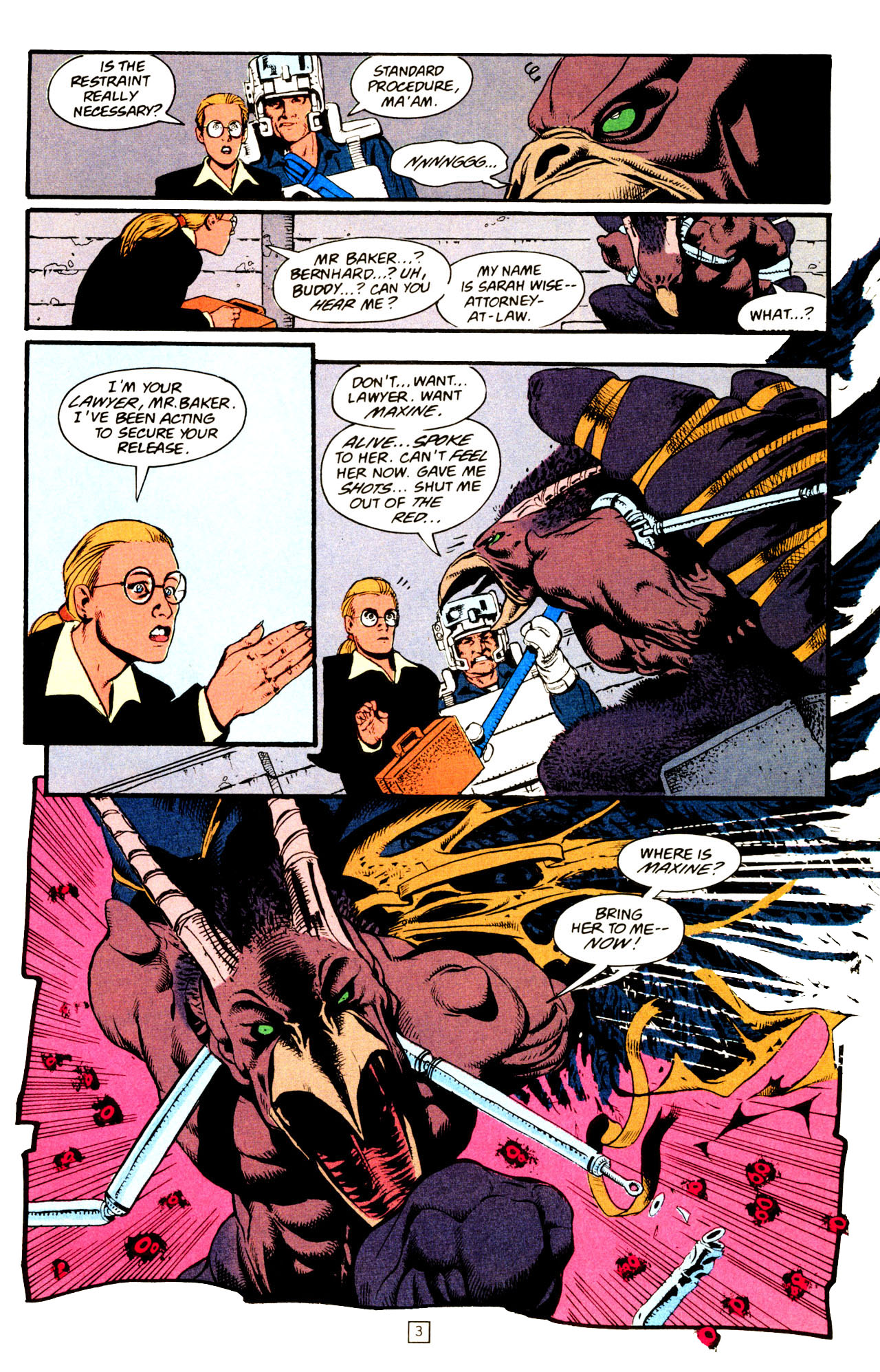 Read online Animal Man (1988) comic -  Issue #72 - 4