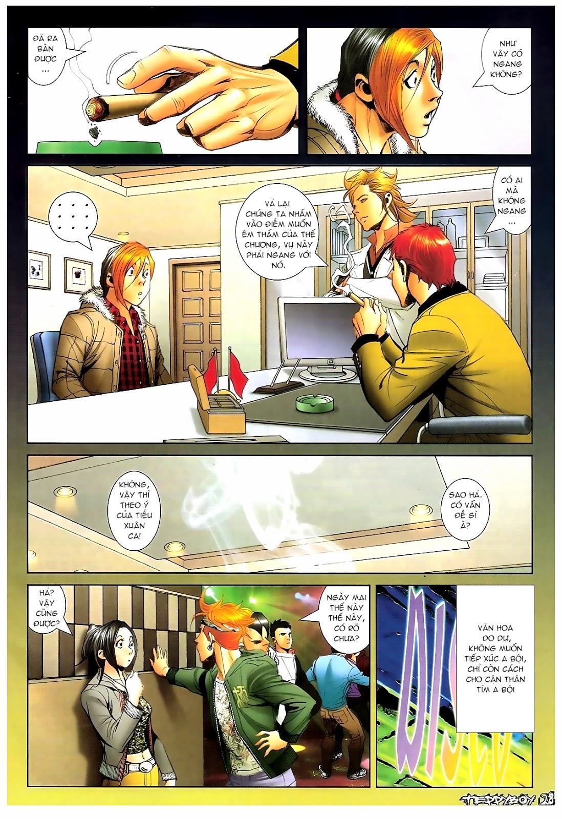 Người Trong Giang Hồ - Chapter 1383: Tiểu Xuân vs Thế Chương - Pic 23