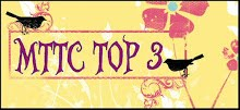 I made Top Three