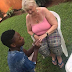Photos: Nigerian Man Proposes To OLD White Lover