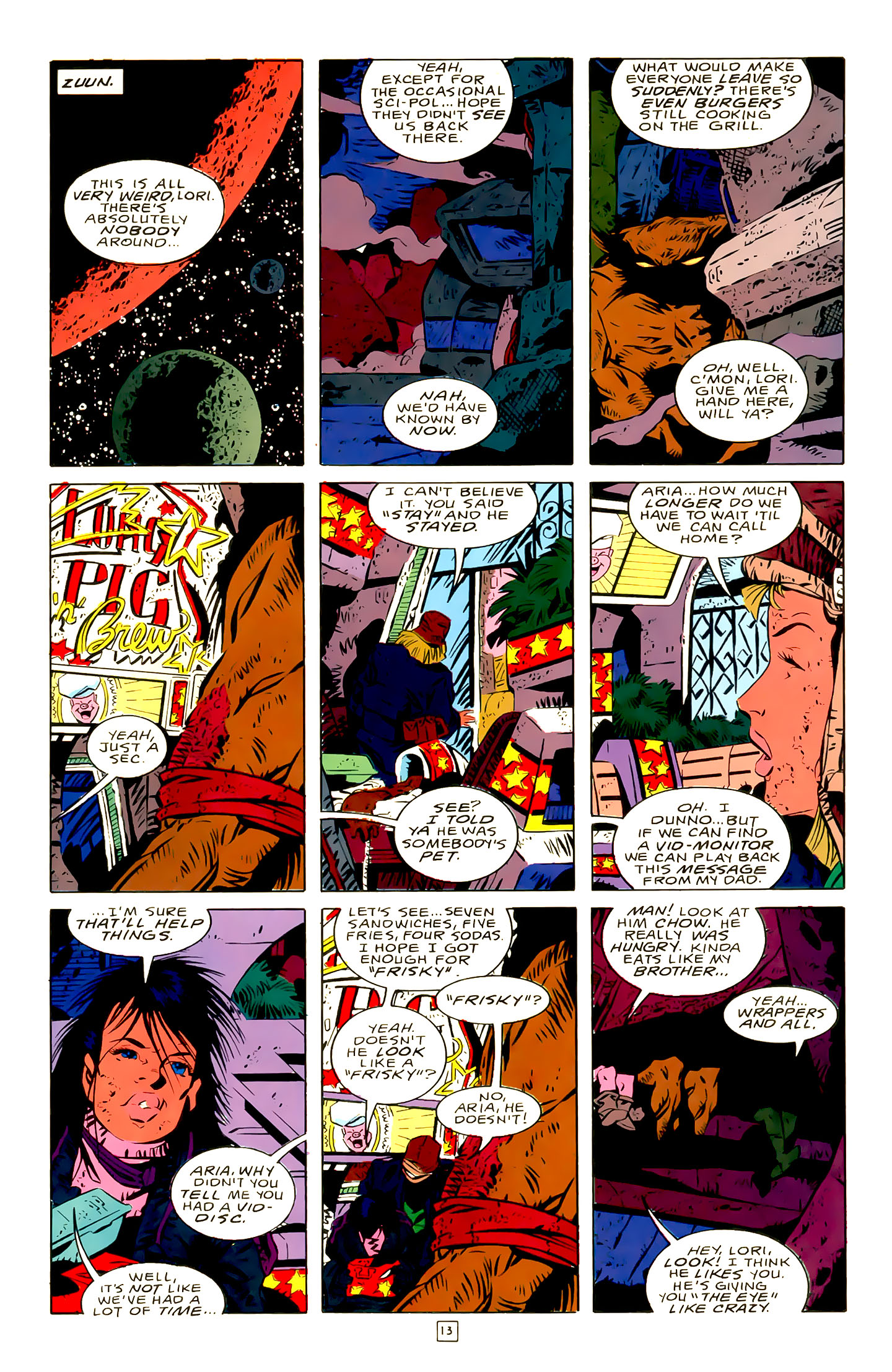 Legion of Super-Heroes (1989) 21 Page 13