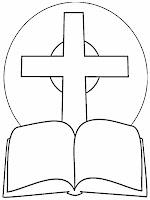 Gambar Mewarnai Sekolah Minggu Alkitab Keluarga Kristen