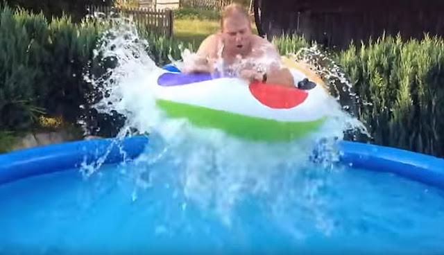 Genio y figura inventos frikis como hacer una piscina for Como armar una piscina redonda