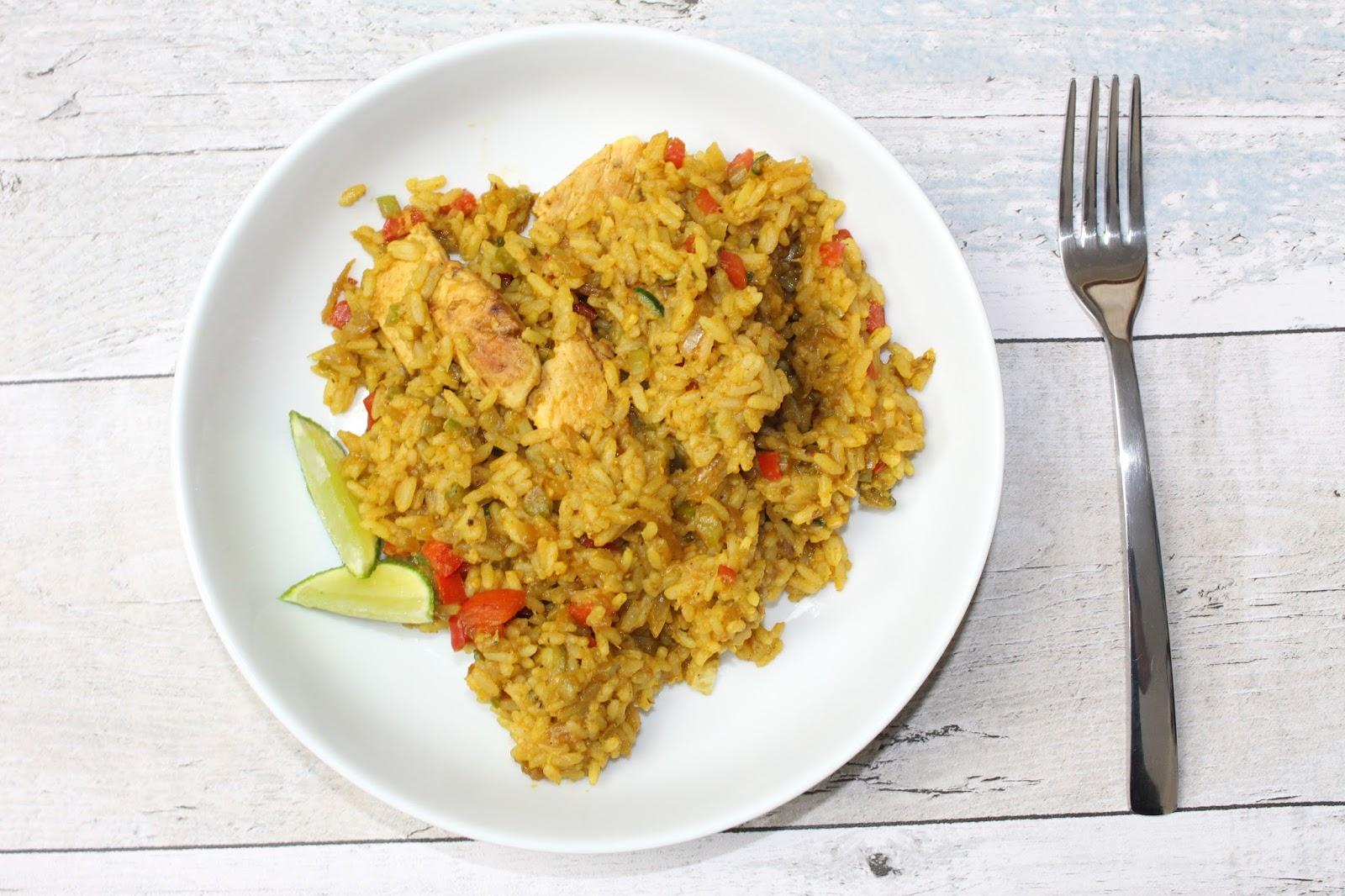 Mary Berrys Panang Chicken Rice Stir Fry Shoutjohn