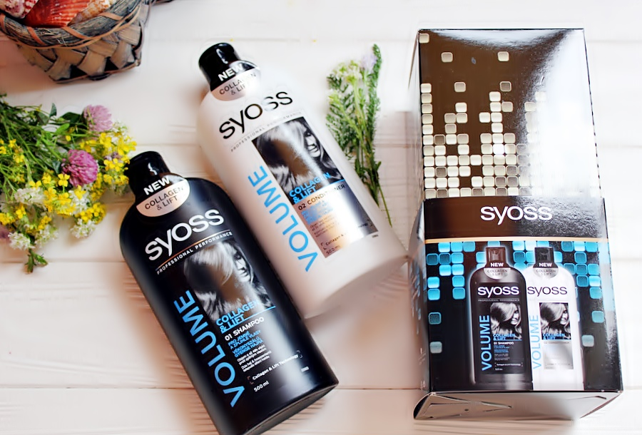 Syoss Шампунь + Бальзам для тонких и лишенных объема волос Volume Collagen & Lift / обзор, отзывы