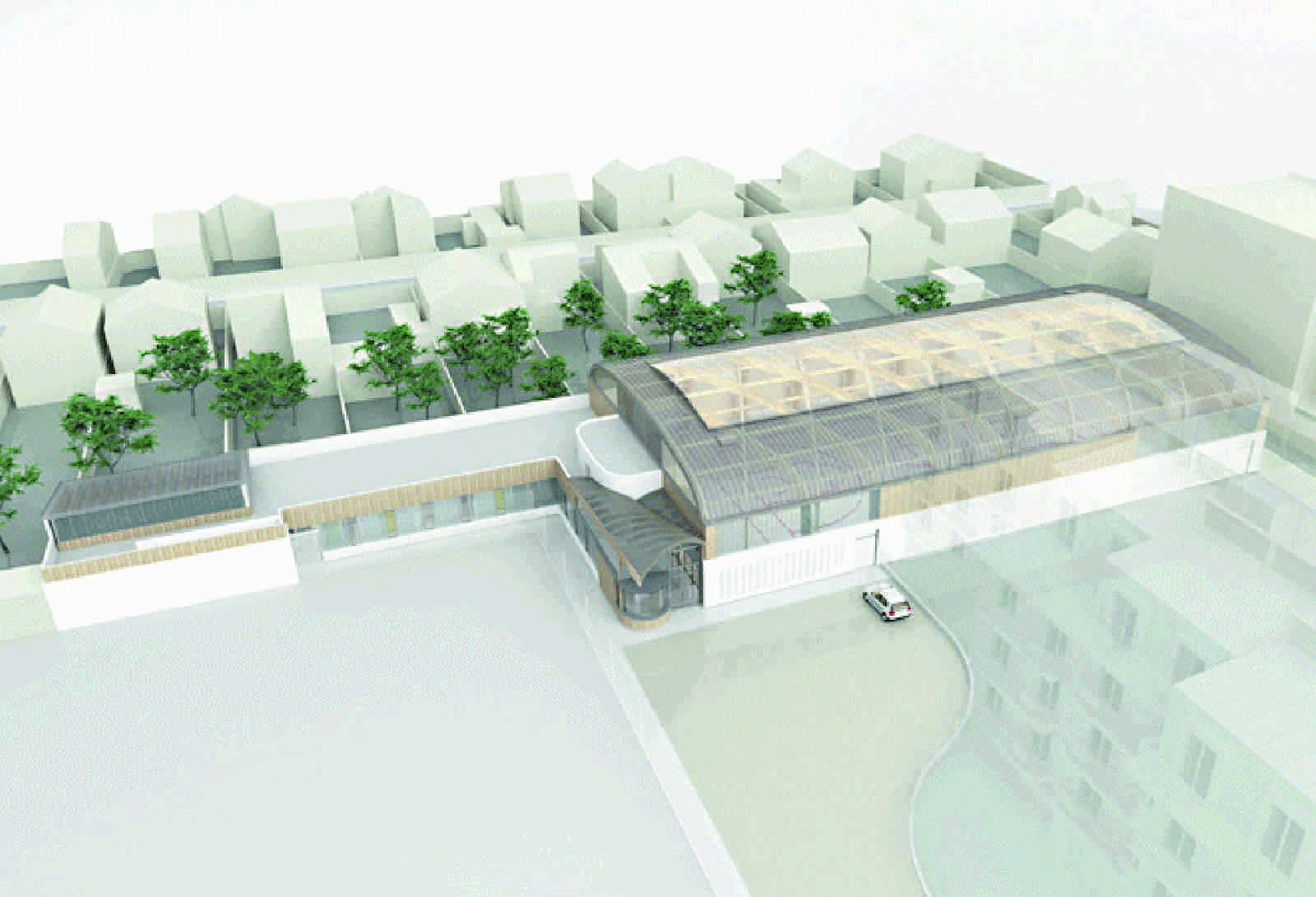 Atelier D Architecture Alexandre Dreyssé gymnasium rÉgis racineatelier d'architecture alexandre