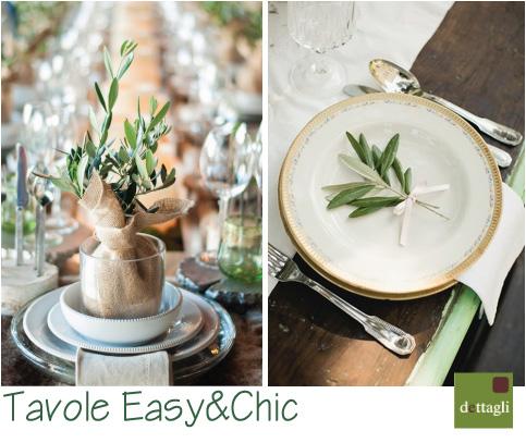 La tavola di pasqua easy chic blog di arredamento e - Tavole da pranzo ...