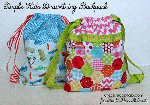 Drawstring Backpack Pattern Pattern Design Inspiration