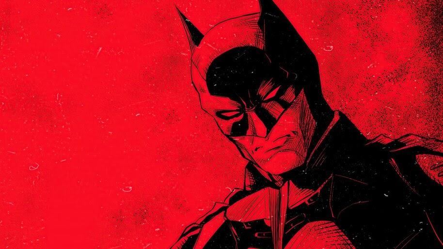 The Batman, Movie, 2021, Art, 4K, #3.2615