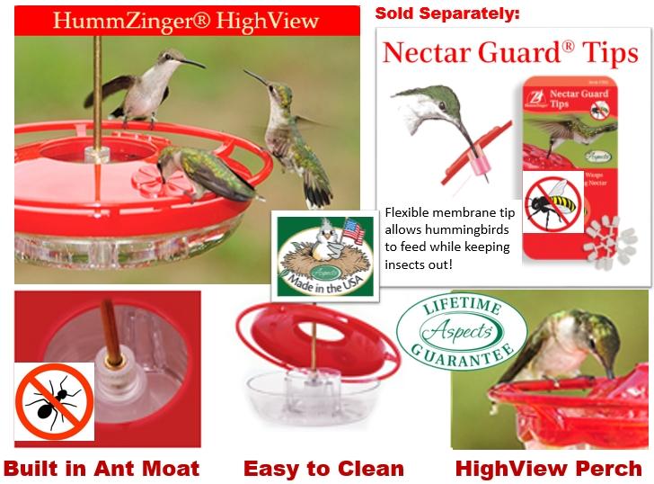 Best No Drip Bee Ant Proof Hummingbird Feeder