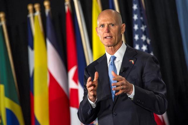 Gobernador de Florida dispuesto a dar estatus de protección temporal a venezolanos en EEUU