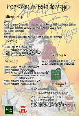 Feria de Paradas 2016 - Programación