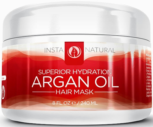 Review: Superior Hydration Argan Oil Hair Mask by Insta Natural