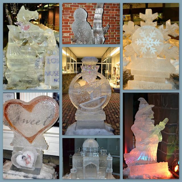 Salem, Sweet, Winter Festival, Ice Sculptures, 2013