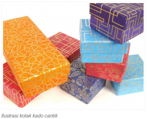 Cara Membuat   Tips - Tips Bermanfaat  Cara Membuat Kotak Kado e2a4acdb0d