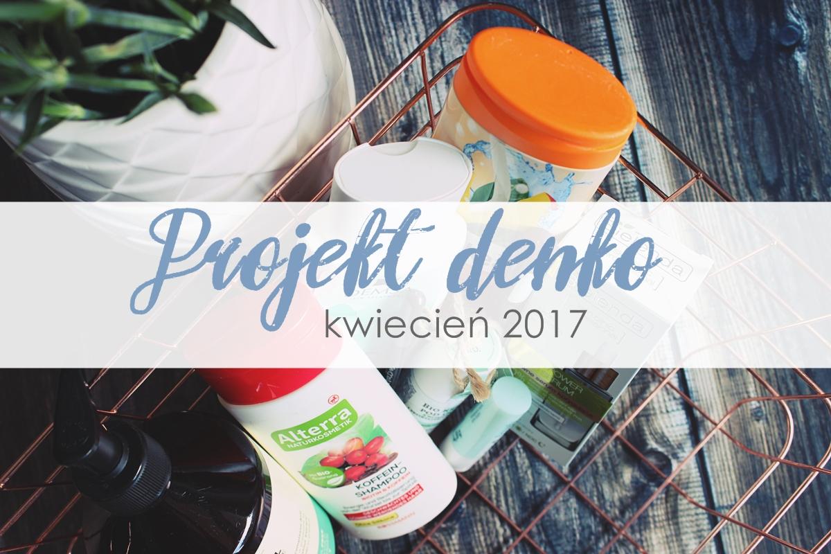 blog projekt denko kwiecień 2017