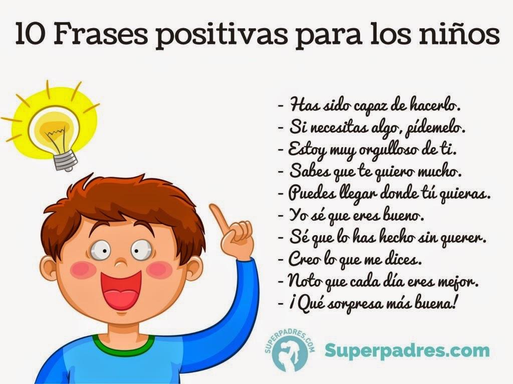Atención A La Diversidad Diez Frases Positivas Para Los Niñ At S