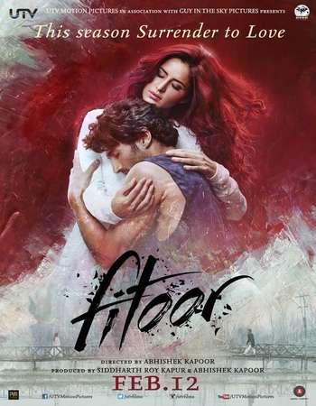 Poster Of Fitoor 2016 Hindi 550MB BRRip 720p ESubs HEVC Watch Online Free Download downloadhub.in