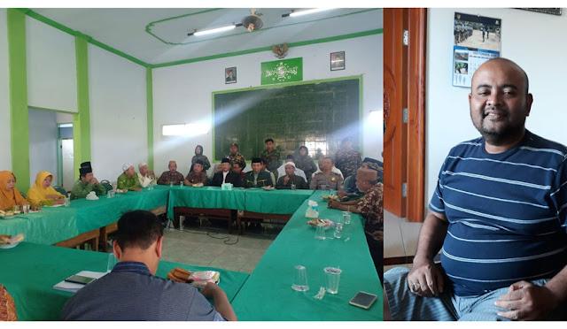 Konferensi Pers di NU dan Direktur Vision Vista