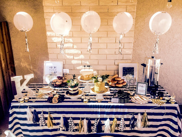 Sweet Emma Lou, Creative Cakery, Modern Baby Shower