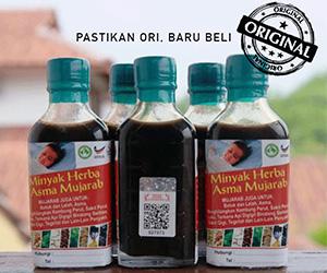 cara mengenal produk tiruan Minyak Herba Asma Mujarab, Minyak Herba Asma Mujarab, 5 cara kenalpasti produk tiruan Minyak Herba Asma Mujarab, kelebihan minyak asma mujarab,