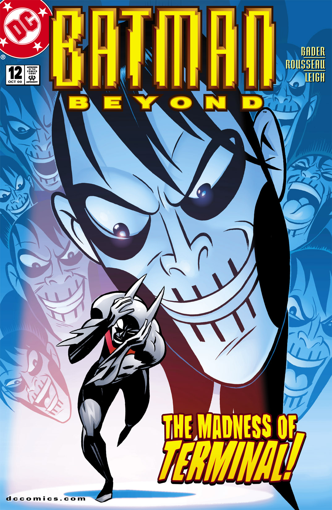 Batman Beyond [II] 12 Page 1