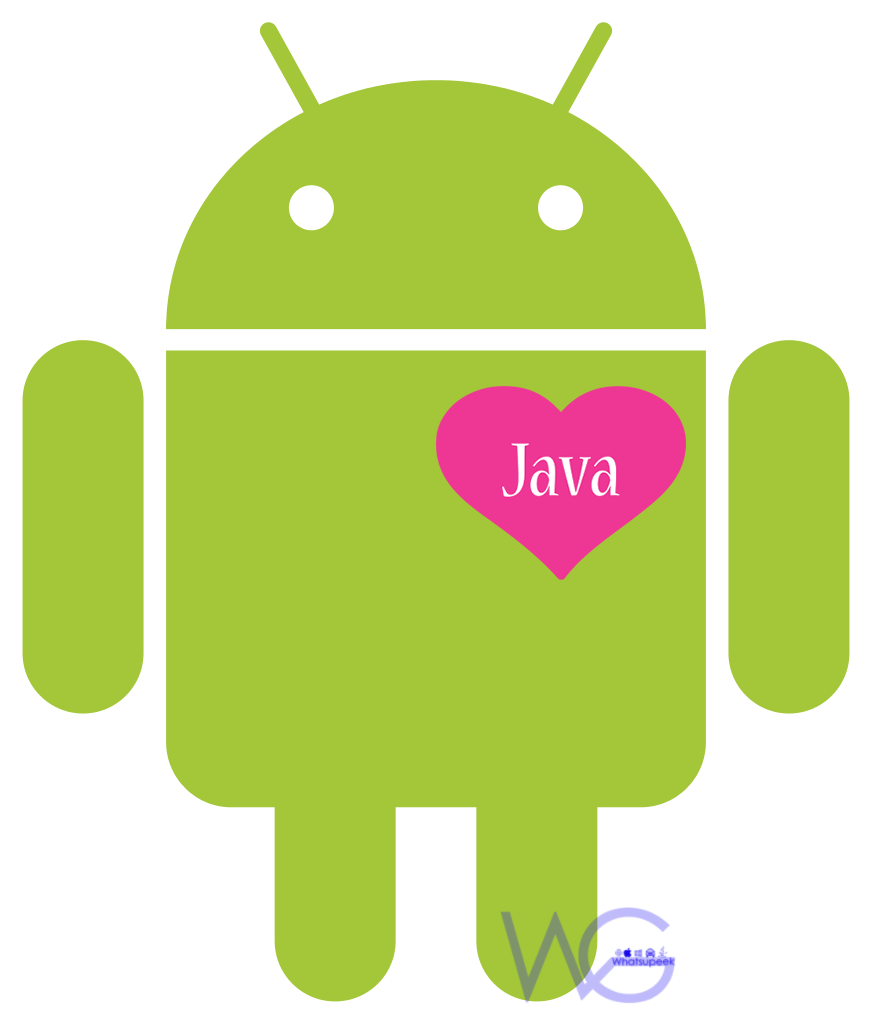 java heart in android