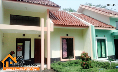 magelang rumah bonjitan asri nyaman dan bersih harga kurang dari 200 juta