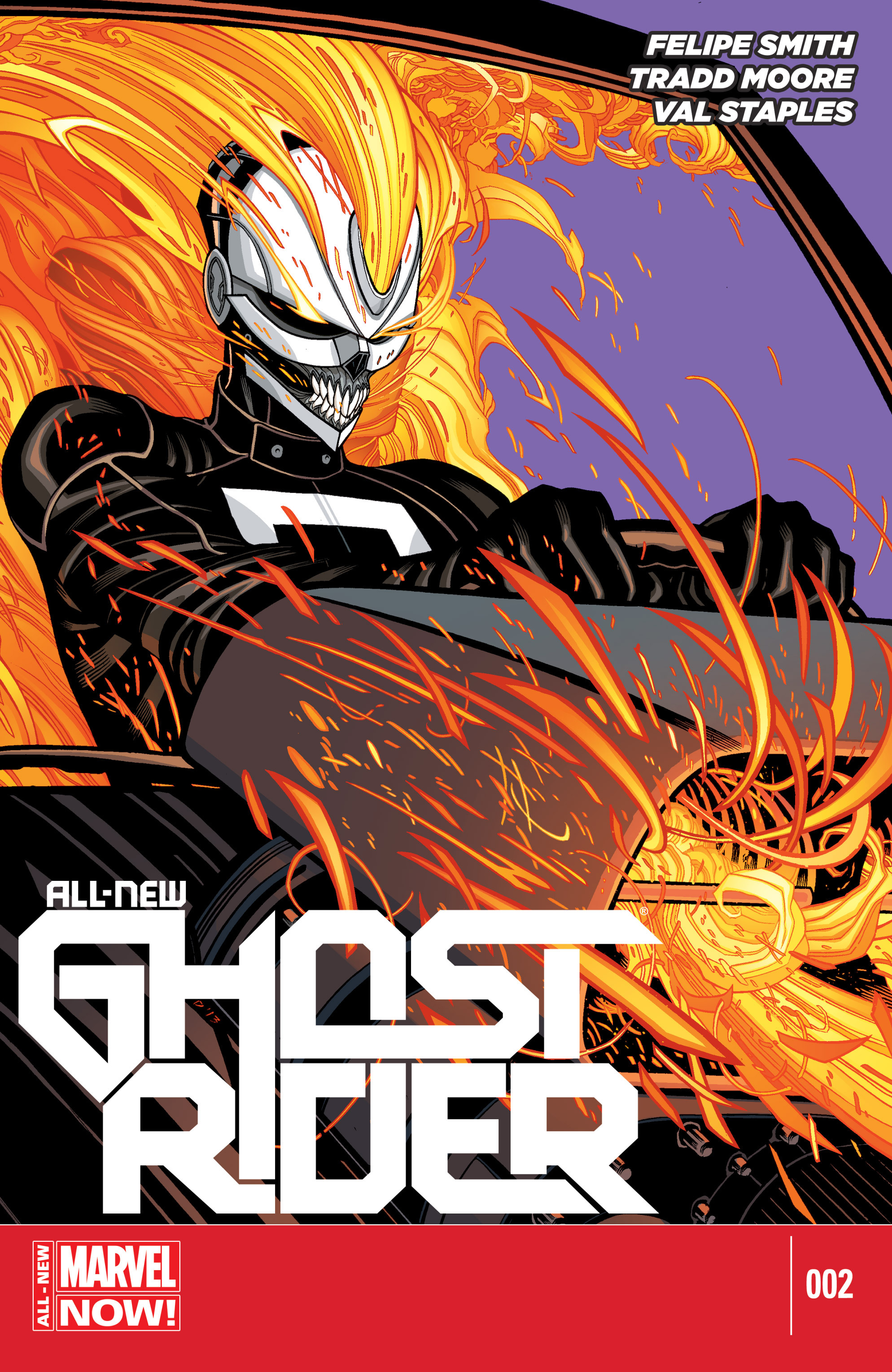 All-New Ghost Rider issue 2 - Page 1