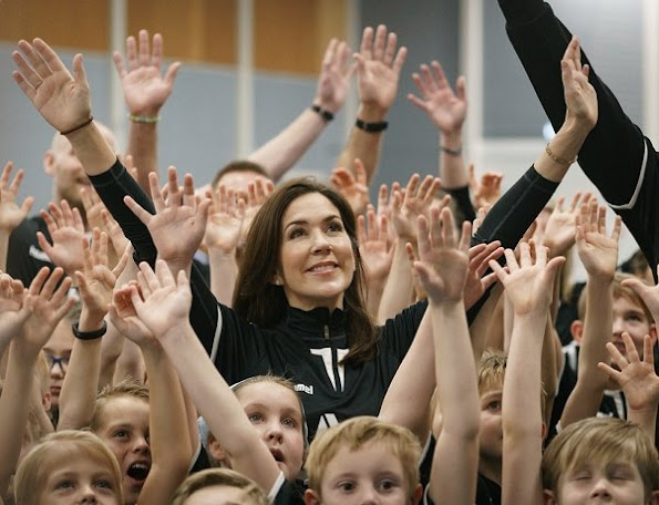 Crown Princess Mary attended the launch of the new campaign the Antibulli, with the Mary Foundation