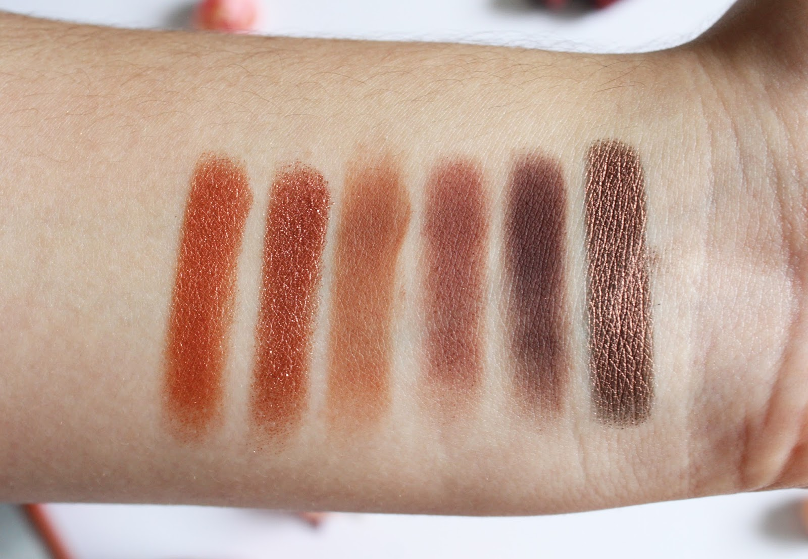 Urban Decay Naked Heat Palette Review & Swatches